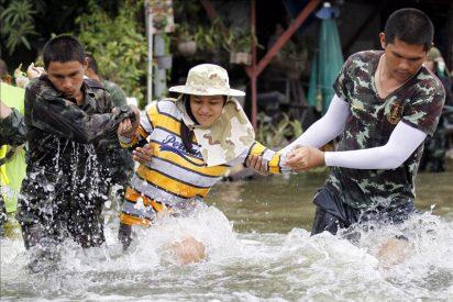 Al menos 315 muertos por las inundaciones en Tailandia