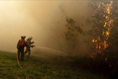 Los incendios arrasan el norte de España y se cobran la vida de un brigadista