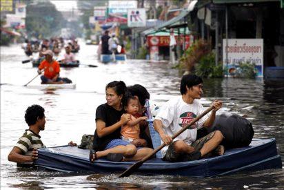 El Gobierno admite que no hay forma de evitar las inundaciones en Bangkok