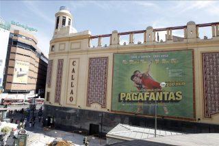 Madrid: Cines Callao cierra temporalmente sus puertas