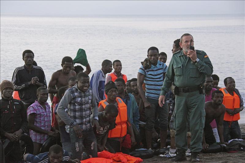 Ceuta registra la mayor entrada de inmigrantes por mar en un día con 65 personas