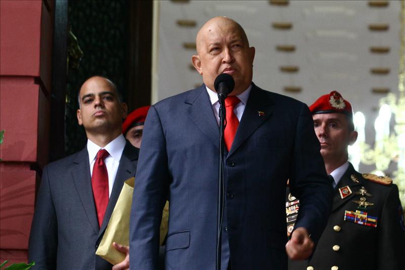"""Chávez espera que el anuncio de ETA abra """"los caminos de la paz"""""""