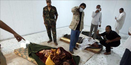 El inmenso desierto libio, sepultura de Gadafi