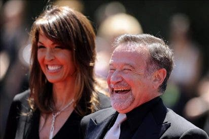 Robin Williams pasa su luna de miel en París tras casarse por tercera vez