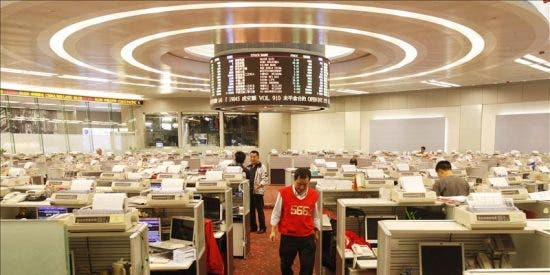 El índice Hang Seng bajó 240,24 puntos, 1,27% en la apertura, hasta 18.727,96