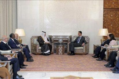 La Liga Árabe se reúne con Al Asad en Damasco para impulsar un diálogo nacional