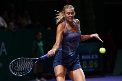 Sharapova sufre su segunda derrota y dilapida sus opciones de número uno