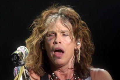 Aerosmith actúa Paraguay tras un aplazamiento de 24 horas por la caida de su lider en el hotel
