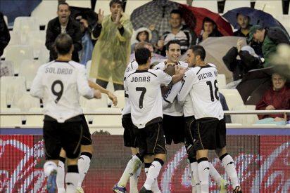 3-1. El Valencia ganó sin sufrir ante un Getafe que se mete abajo