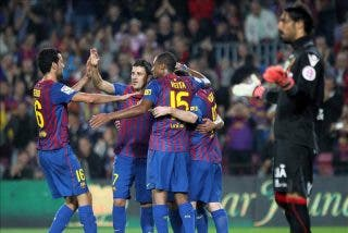 5-0. Messi se reafirma con otro triplete