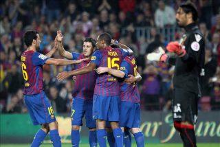 """Messi: """"No estaba preocupado por el gol"""""""