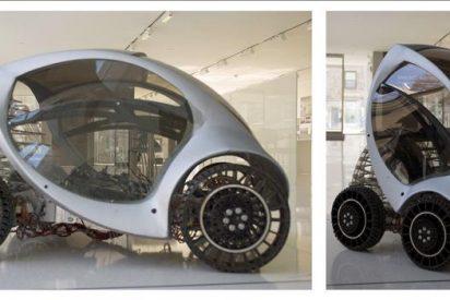 """El MIT refuerza en España la expansión del coche que """"se comprime"""" al aparcar"""