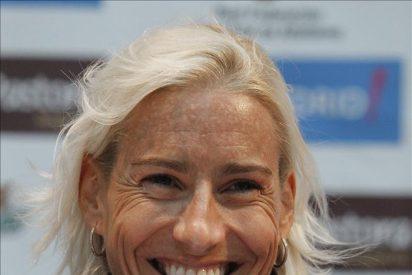 Marta Domínguez reaparece victoriosa en Madrid quince meses después