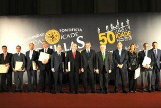 Comillas clausuró el quincuagésimo aniversario de ICADE
