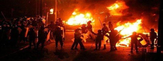 Los disturbios entre militares y coptos en El Cairo dejan más de 20 muertos y cientos de heridos