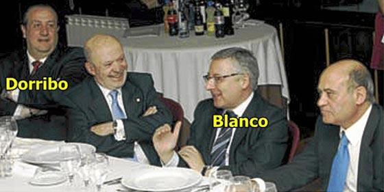 El ministro Blanco oculta que su Gobierno 'supervisaba' las ayudas a Dorribo