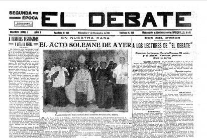 """""""Centenario del diario El Debate"""" en San Pablo"""