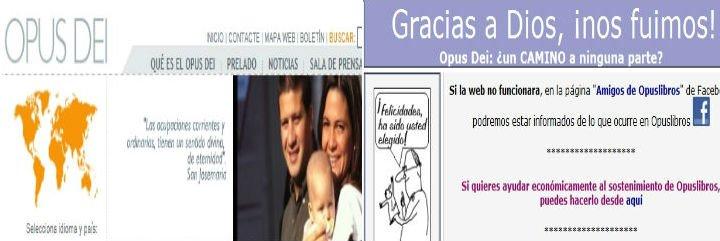 El Opus Dei interpone una demanda contra la web Opuslibros