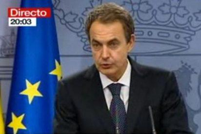 """Zapatero: """"A partir de ahora la nuestra será una democracia sin terror pero con memoria"""""""