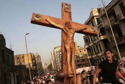 La cruz de ser copto