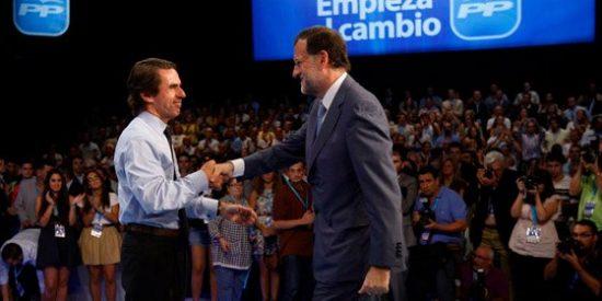 El 'aznarismo' resucita antes del asalto final de Rajoy a la Moncloa