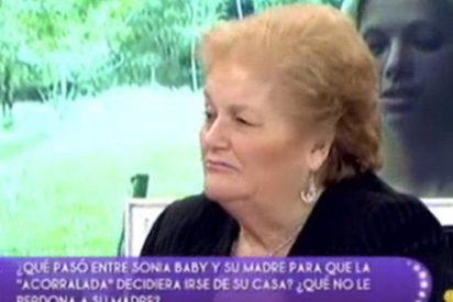 """La madre de Sonia Baby ('Acorralados') insinúa que su hija es prostituta para después decir que no quiere """"hacerle daño"""""""