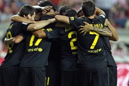 El Barça gana al Sporting de Gijón y se pone líder de la Liga (0-1)