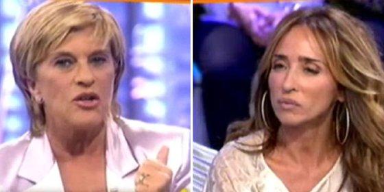 """Ya nadie quiere a Chelo García Cortés en T5: """"¡Vete, eres una traidora, una 'topo', si todo se demuestra pedimos tu dimisión!"""""""
