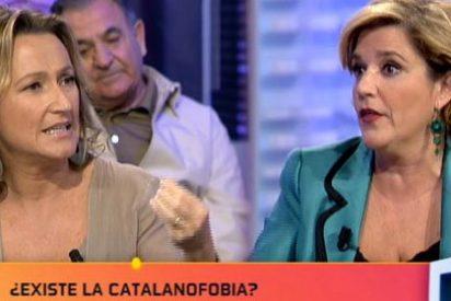 Isabel Durán desmonta el victimismo catalanista de Pilar Rahola en La Noria