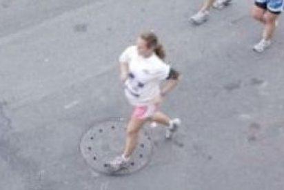Corre un maratón embarazada de 39 semanas y da a luz poco después de cruzar la meta