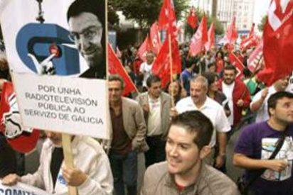 Huelga para mantener viva la ruina de los medios públicos en Galicia