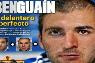 'Marca' propone la solución al debate del delantero: 'Benguaín'