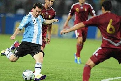 La Venezuela de Chávez hace historia al vencer a Argentina de Messi