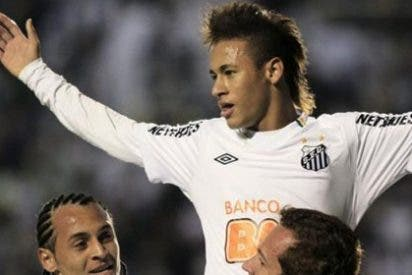 Golazo de Neymar en la victoria del Santos sobre el Botafogo