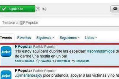 El 'tweet' patoso que se les coló a los del PP y salía en su cuenta oficial