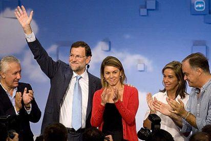 Rajoy también barre a Rubalcaba entre los votantes más jóvenes