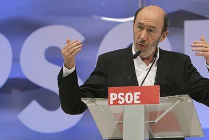 """Rubalcaba: """"Si Pablo Iglesias levantara la cabeza, reconocería nuestro programa"""""""