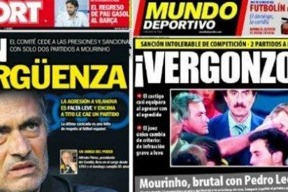 """Josep Pedrerol: """"La sanción es un escándalo descomunal porque lo de Mourinho es premeditado y daña la moral de Vilanova"""""""