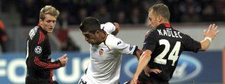 El Valencia se queda al borde del precipicio al perder en Alemania (2-1)