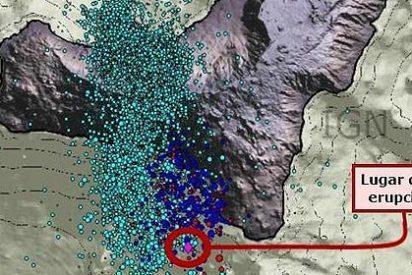 La erupción en El Hierro se acerca a la costa y se hace más peligrosa