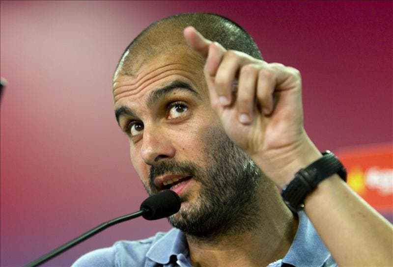 """Pep Guardiola: """"Hemos hecho todo para ganar"""""""
