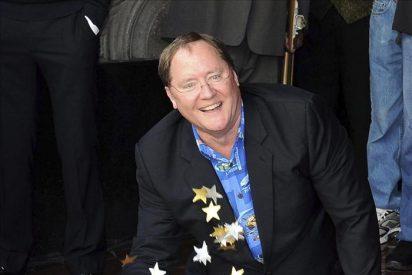 El alma de Pixar, John Lasseter, recibe su estrella en el Paseo de la Fama