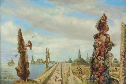 Un lienzo de Max Ernst vendido en 14,5 millones de dólares lidera una subasta en Nueva York