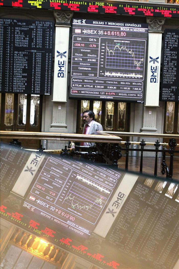 La Bolsa española acoge con un alza del 1,61 por ciento el recorte de tipos del BCE