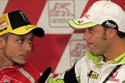 "Rossi señala que ""realmente Marco no se llegó a caer"""