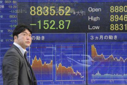 El Nikkei sube 160,98 puntos, un 1,86 por ciento, hasta 8.801,40 puntos