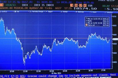 El IBEX cae el 2,93 por ciento, a la espera de la reunión del Eurogrupo sobre Grecia