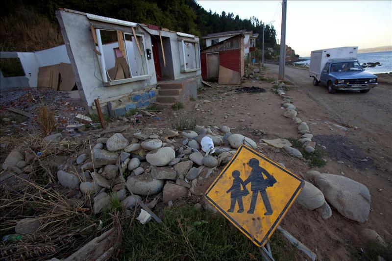 Un temblor de 5,1 grados sacude tres regiones del sur de Chile