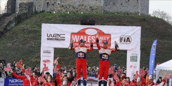 """Loeb, """"muy feliz"""" por batir el récord de Schumacher"""