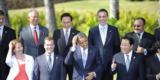 Los socios del APEC renuevan su alianza comercial para protegerse ante una decaída Europa